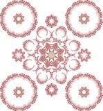 Mandala henny projekta moda ilustracja wektor