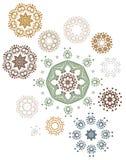 Mandala henny projekta moda royalty ilustracja