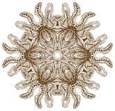 Mandala henny projekta moda Obrazy Royalty Free