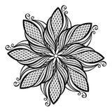 Mandala hermosa de Deco (vector) Foto de archivo libre de regalías