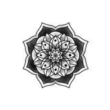 Mandala hermosa de la flor foto de archivo libre de regalías
