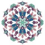Mandala hermosa Modelo ornamental redondo Fotos de archivo libres de regalías