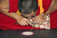 Mandala-Hersteller Stockbild