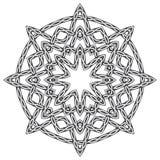 Mandala i celtic stil Royaltyfri Foto