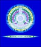 Mandala II de la yoga stock de ilustración