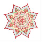 Mandala illustré par vecteur illustration de vecteur