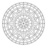 Mandala illustration Stock Photos