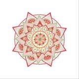 Mandala ilustrada vetor ilustração royalty free