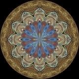 Mandala shield Royalty Free Stock Images