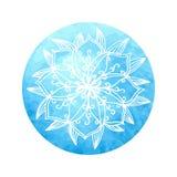 Mandala india de la flor Imágenes de archivo libres de regalías