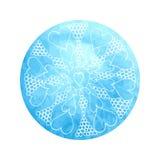 Mandala india de la flor Imagenes de archivo