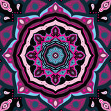 Mandala. Indian decorative pattern. Royalty Free Stock Photography