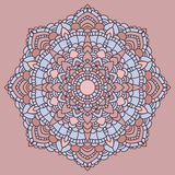 Mandala. Indian decorative pattern. Royalty Free Stock Photos
