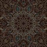 Mandala. Indian decorative pattern. Stock Photography