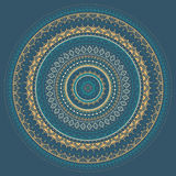 Mandala. Indian decorative pattern. Royalty Free Stock Images