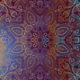 Mandala. Indian decorative pattern. Stock Images