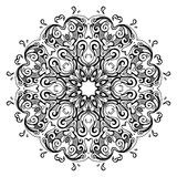 Mandala. Indian decorative pattern. Royalty Free Stock Image