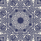 Mandala. Indian decorative pattern. Royalty Free Stock Image