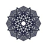 Mandala. Indian wedding meditation. Royalty Free Stock Photos