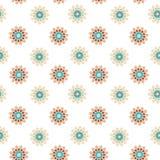 Mandala islamica Vettore senza cuciture del modello della decorazione orientale Fotografia Stock Libera da Diritti