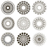 Mandala on isolated background royalty free stock photos