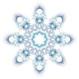 Mandala isolated on white Royalty Free Stock Photo