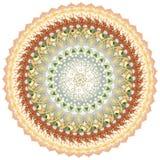 Mandala kaleidoscope of elements american dollar stock photos
