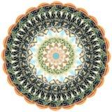 Mandala kalejdoskop elementu amerykanina dolar obrazy royalty free