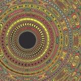 Mandala kalejdoskopu tła colourful deseniowy expolosion Obraz Stock