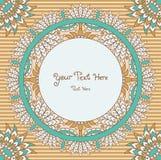 Mandala karta Fotografia Royalty Free