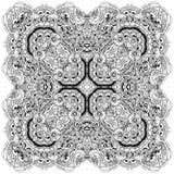 Mandala karta Obrazy Royalty Free