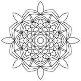Mandala kolorystyki książka Zdjęcia Royalty Free