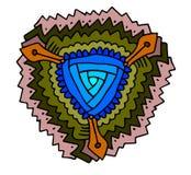Mandala kordziki ilustracja wektor