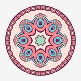 mandala Kreatywnie kółkowy ornament Round symetryczny wzór elementu dekoracyjny rocznik Etniczny orientalny wzór ilustracji