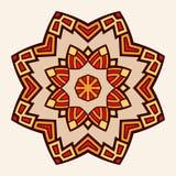 mandala Kreatywnie kółkowy ornament Obraz Stock