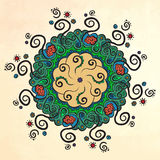 mandala Kreis ornament Stockbilder