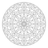 mandala Kurenda wzór w etnicznym stylu ilustracja wektor