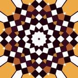 mandala kwadraty royalty ilustracja