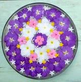 Mandala kwiat Obraz Royalty Free