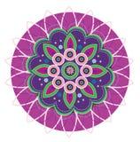 Mandala kwiat Zdjęcie Royalty Free