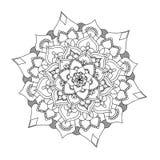 Mandala kwiat Zdjęcia Stock