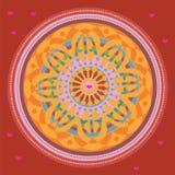 Mandala libre de coeur. illustration Images libres de droits