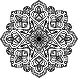 The Mandala line art Stock Photography
