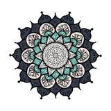 Mandala Line Template Fotos de archivo libres de regalías