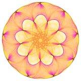 Mandala luminosa Fotografie Stock Libere da Diritti