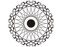 Mandala mágica Imagen de archivo libre de regalías