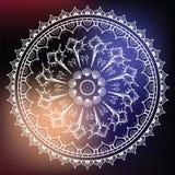 Mandala made of Seashells. Stock Image