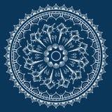 Mandala made of Seashells. Royalty Free Stock Images
