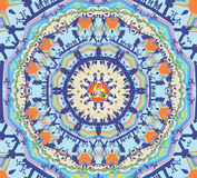 Mandala Magic City Photo stock
