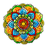 Mandala malował handmade ilustracji